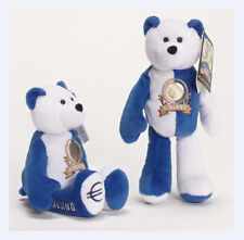 """Finland Euro Coin Bear Retired Plush 9"""" Collectible Bear Limited Treasures"""