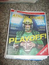 Marcus Mariota ATHLON SPORTS SPORTS PUBLICATION - OREGON / TITANS #2 NFL DRAFT