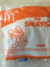 McDONALDS TOY THE SMURF 2 HANDY SMURF  / RARE / CUTE