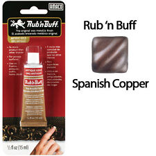 Rub N Buff Wax Metallic Finish Spanish Copper 76306K by AMACO