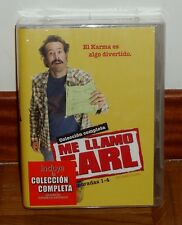 ME LLAMO EARL-MY NAME ES EARL-1-4 TEMPORADAS COMPLETAS-16 DVD-NUEVO-NEW-SEALED