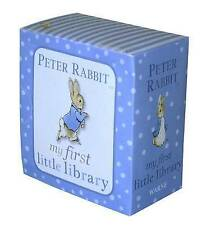 Beatrix Potter Peter Rabbit My First Little Library Book Words Colours Numbers