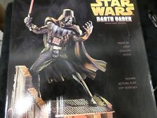 "Star Wars Darth Vader 17"" Cold-Cast Resin Statue (2005) Hasbro  MIB"
