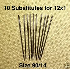 Needles Size 90 Substitute for 12x1 Singer 12 & most Transverse Shuttle Machines