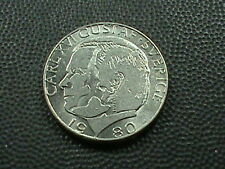 SWEDEN    1 Krona    1980    UNCIRCULATED