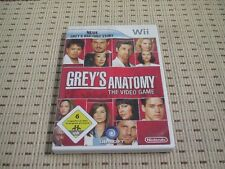 Grey´s Anatomy The Video Game für Nintendo Wii und Wii U *OVP*