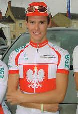 Carte postale Coups de Pédales Pawel Charucki champion de Pologne 2010