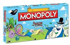Adventure Time Collector's Edition Monopoly Board Game - Brand New & Sealed