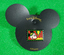 Euro Disney Mickey Hot Air Balloon Stamp Pin dated 1992 first park year