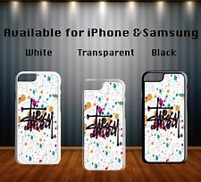Hipster Fashion Pink Stussy Colourful Art Hard Phone Case Cover X270
