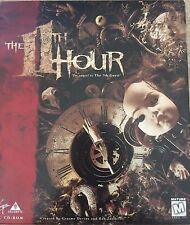 +++ THE 11TH HOUR PC CD ROM GAME BIG BOX COMPLETE! +++ Windows