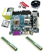 intel C2D 2.0ghz+KUK Motherboard G31/945 +Ram 2 GB + Fan combo 1 year warranty