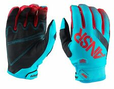 GUANTI MOTO ENDURO CROSS ANSR ANSWER SYNCRON 2017 BLU RED GLOVES TG S