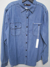 $265 3x1 NYC SELVEDGE POCKET AVENUE B SHIRT 100% COTTON USA