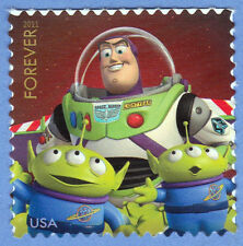 BUZZ LIGHTYEAR Disney TOY STORY Forever STAMP Send a Hello 2011 UNUSED POSTAGE