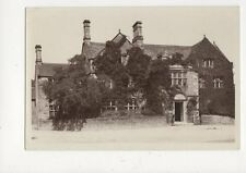 The Peacock Hotel Rowsley Vintage RP Postcard 637a