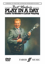 Bert Weedons Play in a Day Guitar Learn to EASY Beginner FABER Music Tutor DVD