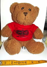 RARE~ COCA COLA ZERO coke TEDDY BEAR~DAYTONA 400~ JULY 2, 2011 PLUSH ~US  SELLER