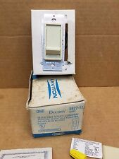 Leviton 6627-1I  Single-Pole Sure Slide 5A Fan Speed Control Ivory Free Shpping