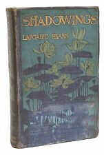 Shadowings First Edition Lafcadio Hearn UK 1st Printing Rare Book 1900