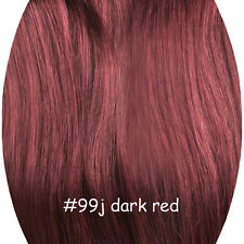 100g 120g 140g 200g Full Head Clip in Remy Human Hair Extensions 14''-30'' stock