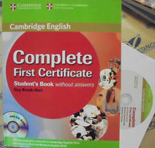 COMPLETE FIRST CERTIFICATE without ANSWERS con Cd - G.BROOK HART - CAMBRIDGE