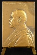 """Médaille à Armand Gautier chimiste auteur de """"La sophistication des vins"""" Vernon"""