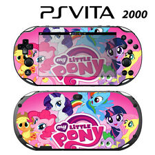 Vinyl Decal Skin Sticker for Sony PS Vita Slim 2000 Little Pony Friendship 4