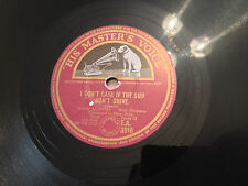 "TONY MARTIN ""I Don't Care If The Sun Don't Shine"" DENNIS DAY ""Mona Lisa"" 78rpm"