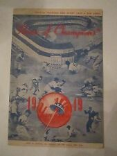 1949 YANKEES OFFICIAL PROGRAM AND SCORE CARD - UNSCORED - NICE - TUB AA