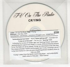 (GO59) TV On The Radio, Crying - 2009 DJ CD