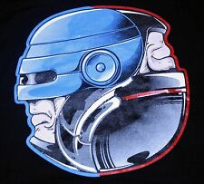 """Dead or Alive"" Robocop Ying Yang Large Shirt Teevillain"