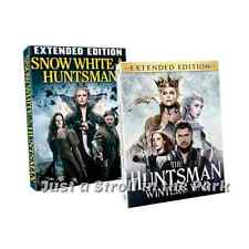 Snow White and The Huntsman Winter War Complete Movie Series Box / DVD Set(s)