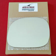 NEW Mirror Glass + ADHESIVE FORD LINCOLN TRUCK SUV Driver Side POWER *FAST SHIP*