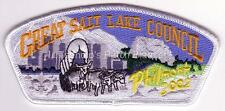 Great Salt Lake Council SA-108 2002 Philmont Contingent CSP Mint FREE SHIPPING