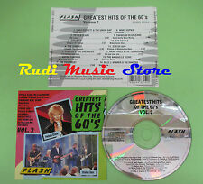 CD GREATEST HITS OF THE 60'S compilation STATUS QUO PETULA CLARK JEFF BECK (C20)