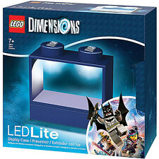 LEGO Dimensions LED Lite - Blue Display Case for Minifigures / Minifigure