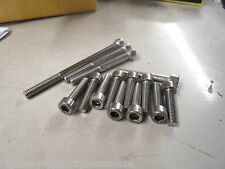 YAMAHA XV 535 VIRAGO 87-02 RIGHT HAND ENGINE CLUTCH COVER STAINLESS BOLT SET KIT