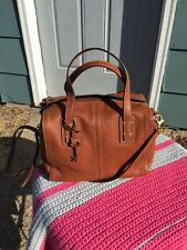 Fossil Emma Satchel *BROWN* Nwts