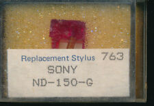 """""""AIGUILLE record needle PICK-UP REPLACEMENT STYLUS 763 SONY ND-150-G SR DIAMOND"""