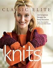 Classic Elite Knits: 100 Gorgeous Designs for Every Occasion-ExLibrary