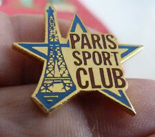 BEAU PIN'S TOUR EIFFEL PARIS SPORT CLUB EGF