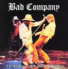Bad Company - Live in Albuquerque 1976 -  Rare OOP Angel Air CD - Gently Used!!!