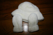 Little Girls Hat and Gloves Size 2t - 4t