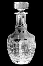 RALPH LAUREN COCKTAIL PARTY Decanter Lead Crystal  Stopper Barware Whiskey Gift