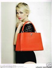 Publicité advertising 2014 Haute Couture Louis Vuitton avec Michelle Williams