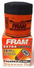 FRAM EXTRA GUARD PH4967 OIL FILTER, (WIX 51394)