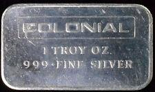 1 oz Colonial Mining .999 Fine Silver Bar