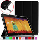 """For Samsung Galaxy Note 10.1"""" inch SM-P600 2014 Edition Leather Case Smart Cover"""