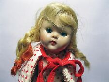 Early Vogue Ginny Jointed Doll with Adorable Red & White Polka Dot Outfit